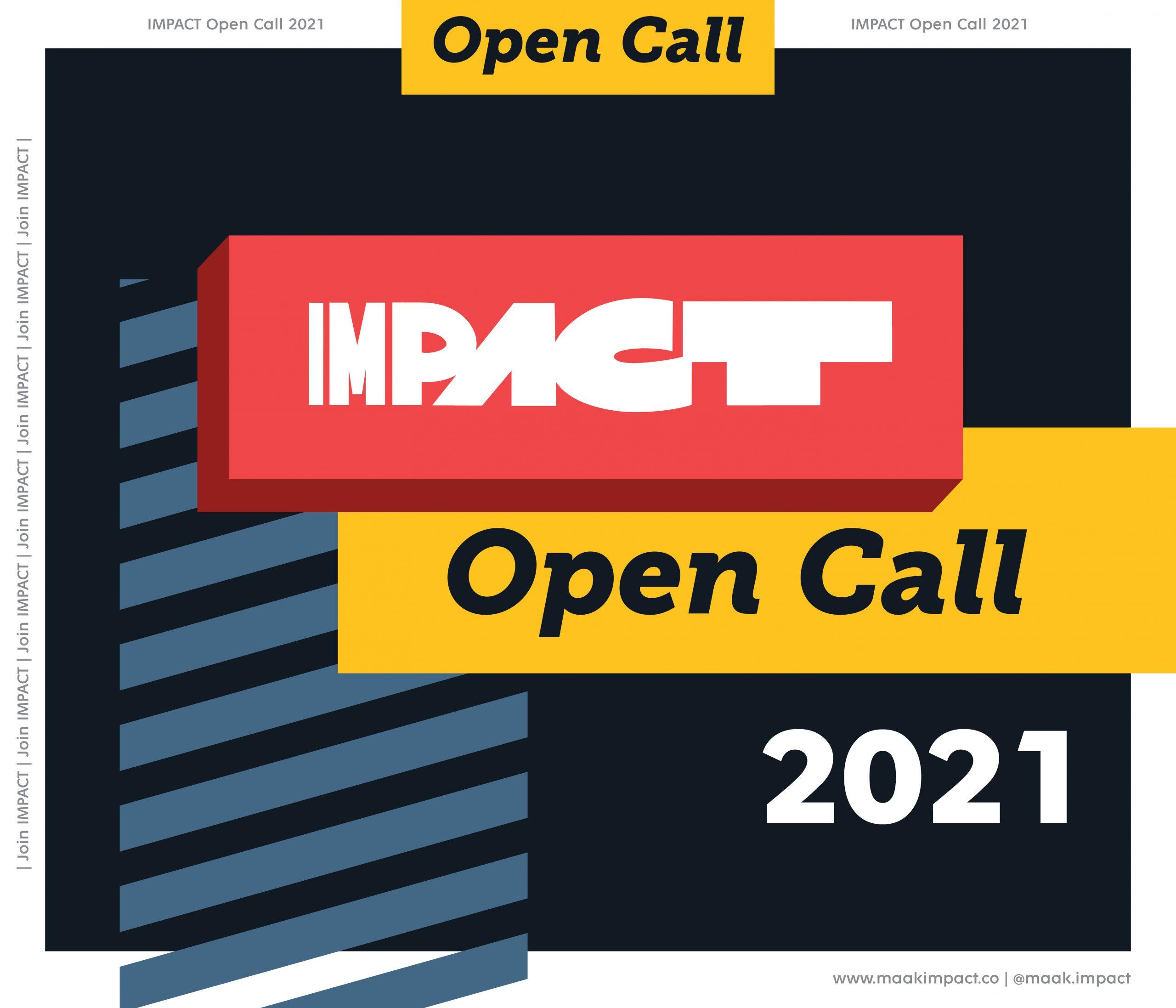 IMPACT Open Call 2021